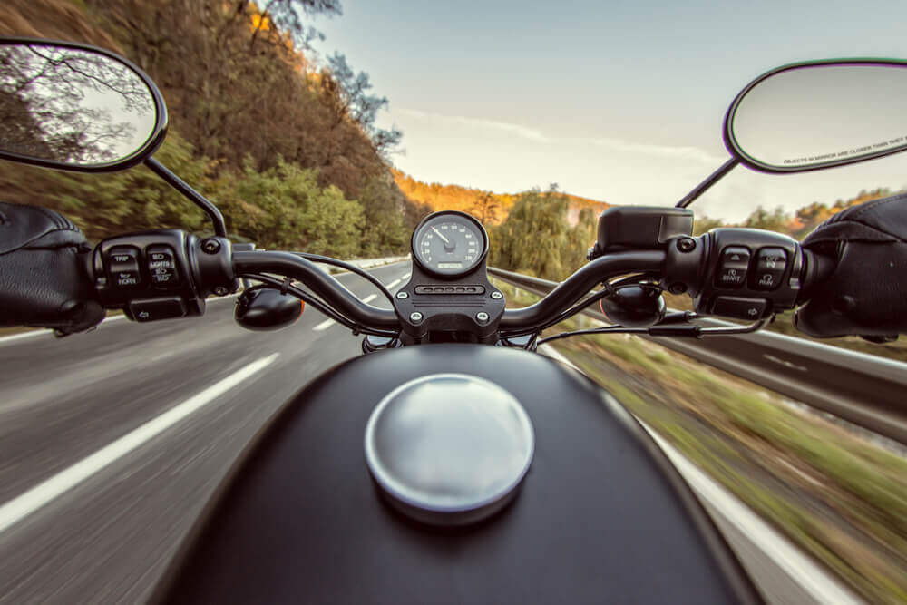 Riding a motorcycle in Canada and the USA